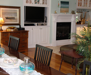 Relax in the Living and Dining Room Area