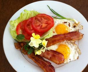 Enjoy the Full Breakfast
